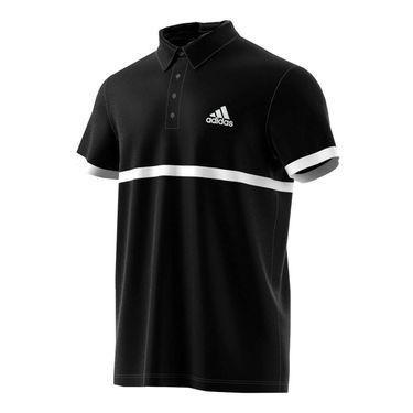 adidas Court Polo - Black/White
