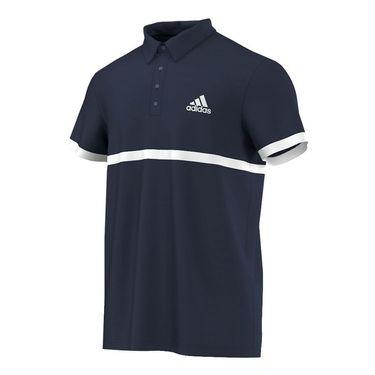 adidas Court Polo - Collegiate Navy/White