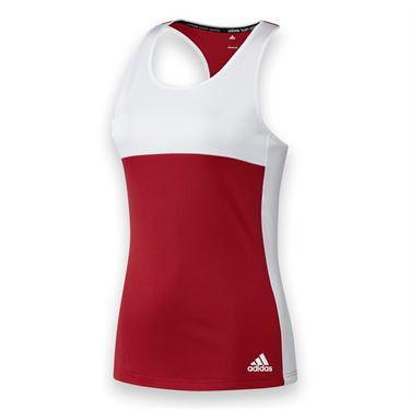 adidas T16 CC Tank - Power Red/White