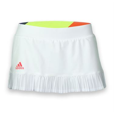 adidas adiZero Skirt - White/Shock Red
