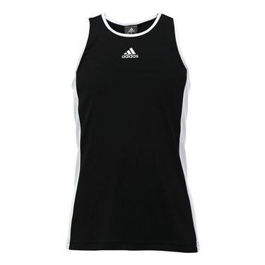 adidas Girls Court Tank - Black/White