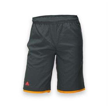 adidas Boys adiZero Bermuda Short - Solid Grey/EQT Orange