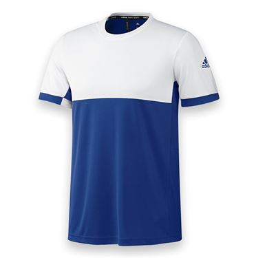 adidas T16 CC Crew - Collegiate Royal/White