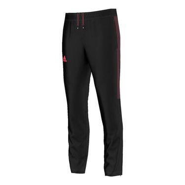 adidas Barricade Pant - Black/Flare Red