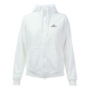 adidas Full Zip Jacket - White