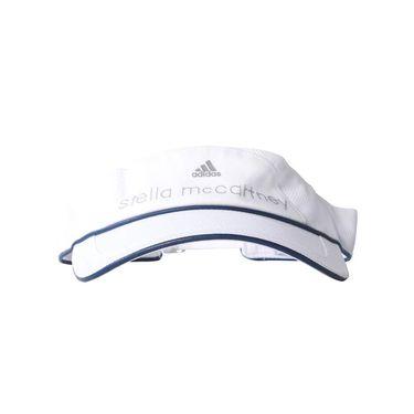 adidas Stella McCartney Visor - White/Collegiate Navy