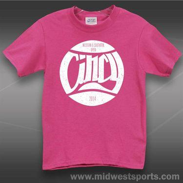 W&S Junior Cincy T-shirt -Sangria