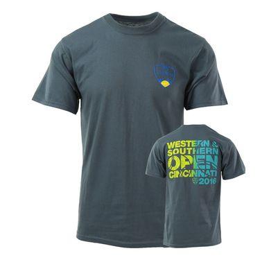 W&S 2016  Western & Southern Back design T-Shirt - Steel Blue