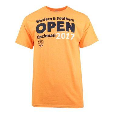 W&S 2017 Unisex Western & Southern Open T-Shirt - Orange
