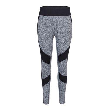 Tail Core Side Stripe Legging - Light Grey Space Dye