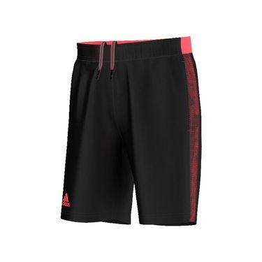 adidas Barricade Short - Black/Flare Red
