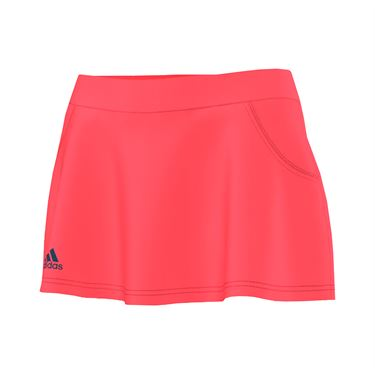 adidas Club Skirt LONG - Flash Red/Steel