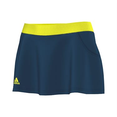 adidas Club Skirt LONG - Steel/Neon Green