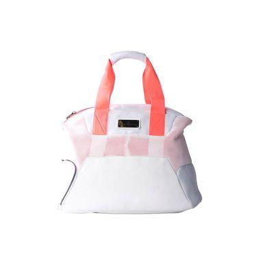 adidas Stella McCartney Tennis Bag - White/Flash Red
