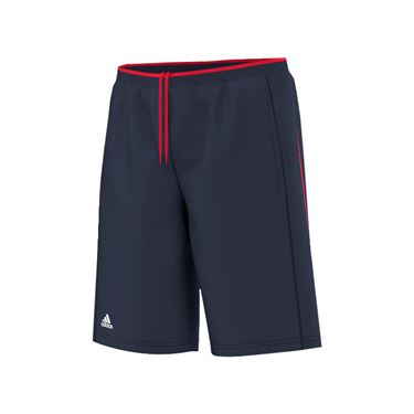 adidas Boys Club Primefit Bermuda Short - Navy/Ray Red