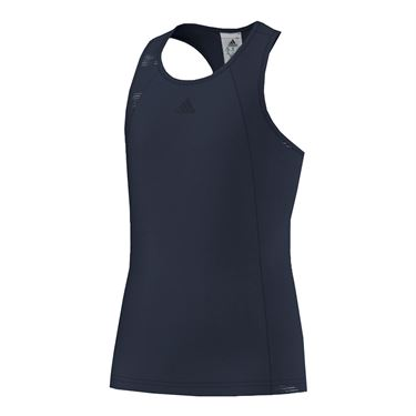 adidas Girls Primefit Tank - Navy