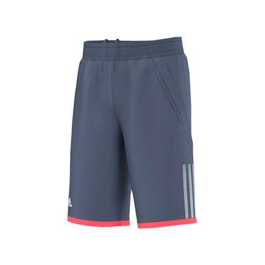 adidas Boys Club Bermuda Short - Ink/White/Flash Red