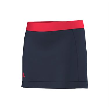 adidas Girls Court Skirt - Navy/Ray Red