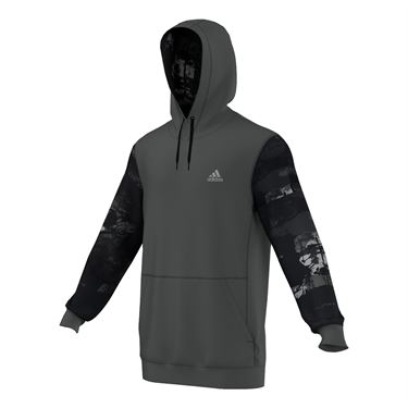adidas Team Issue Element Fleece Hoodie - Grey