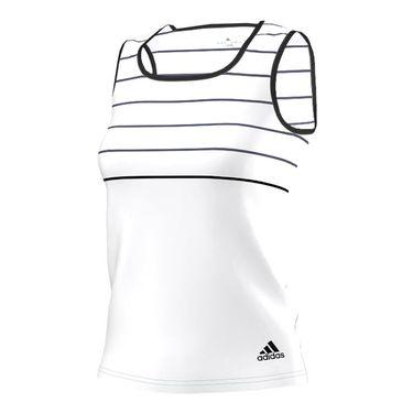 adidas all Premium Tank - White/Black