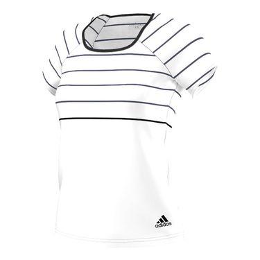 adidas all Premium Tee - White/Black
