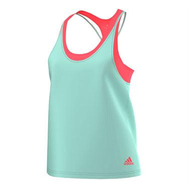 adidas Club Trend Tank - Ice Green/Flash Red
