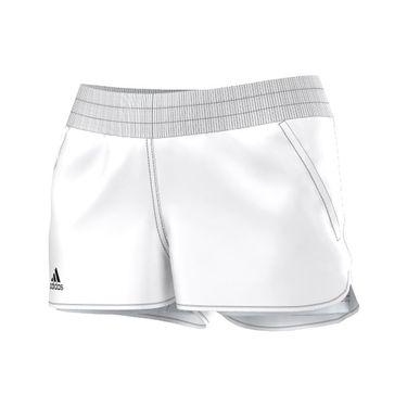 adidas Court Short - White/Black