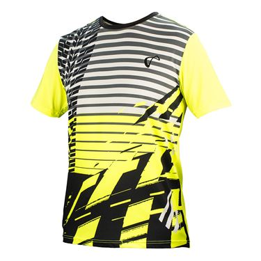Athletic DNA Boys Match Crew - Road Warrior Yellow