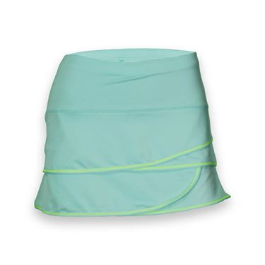 Lucky in Love Girls Scallop Skirt - Sea Blue