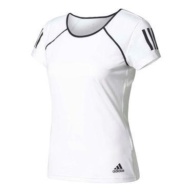 adidas Club Tee - White/Black
