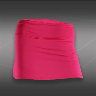 Lucky in Love Girls Love Pink Rouched Skirt- Shocking Pink