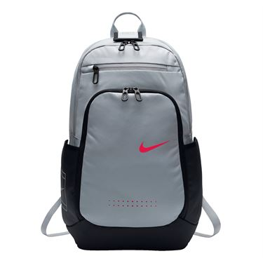 Nike Court Tech 2.0 Backpack - Wolf Grey/Black/Siren Red