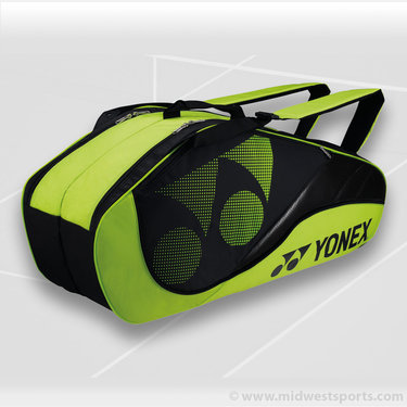 Yonex 2013Tournament Active Lime 6 Pack Tennis Bag