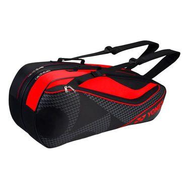 Yonex Tournament Series 6 Pack Tennis Bag - Black/Red