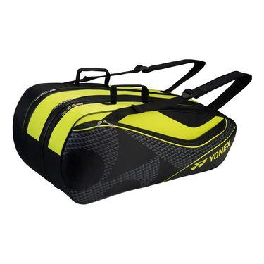 Yonex Tournament Series 9 Pack Tennis Bag - Black/Acid Yellow