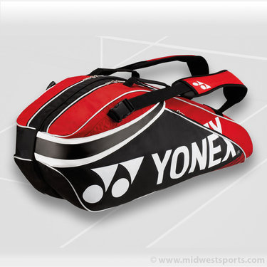 Yonex Pro Series Red 6 Pack Tennis Bag