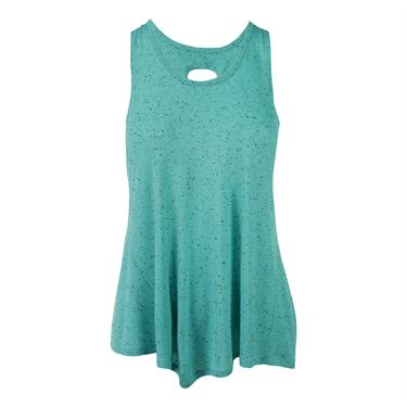 Colosseum Zeal Twistback Tank - Emerald Sky