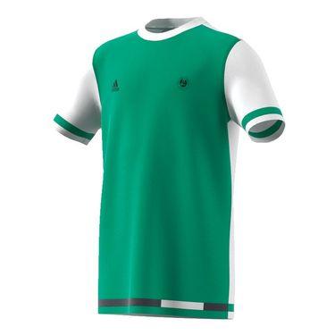 adidas Boys Roland Garros Tee - Core Green