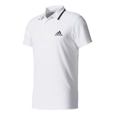 adidas advantage Polo - White/Black