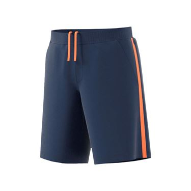 adidas advantage Short - Mystic Blue/Glow Orange