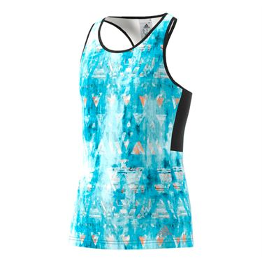 adidas Girls Roland Garros Essex Trend Tank - Blue/Black