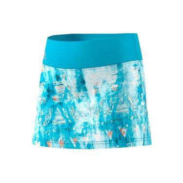 adidas Girls Roland Garros Essex Trend Skirt - Blue/Black