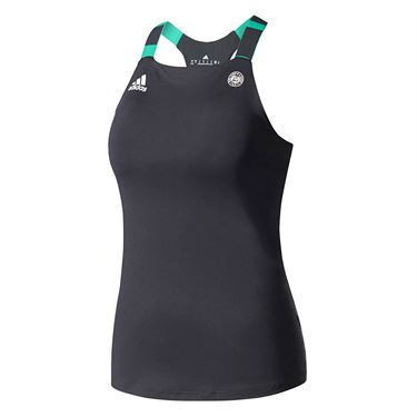 adidas Roland Garros Tank - Night Grey