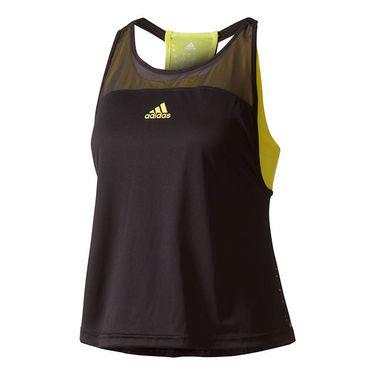 adidas US Series Tank - Black/Yellow