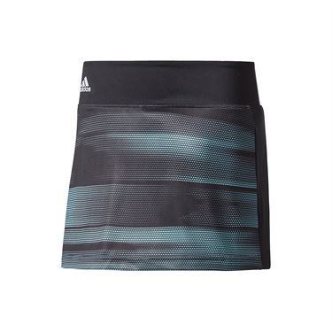 adidas Girls Advantage Trend Skirt - Black/Onix/Energy Aqua