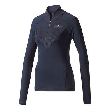 adidas Stella McCartney Long Sleeve 1/2 Zip - Legend Blue