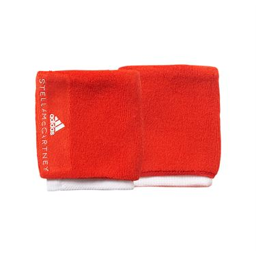 adidas Stella McCartney Wristband - Corral Red/White