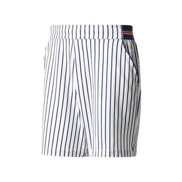 adidas NY Stripe Short - White/Dark Blue