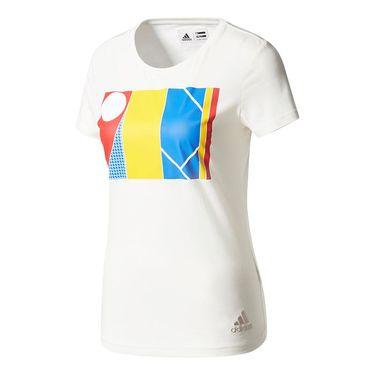 adidas NY Graphic Tee - White
