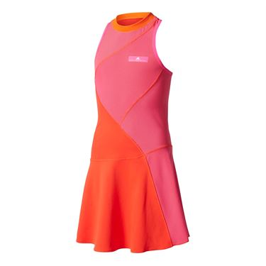 adidas Girls Stella McCartney Barricade Dress - Core Red